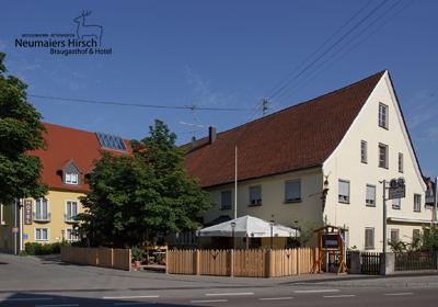 Neumaiers Hirsch Braugasthof & Hotel*** - Attenhofen - Bayern - Schwaben (D)